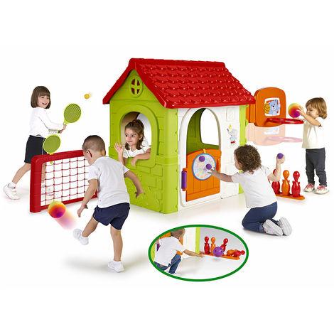 Garden play house for children MULTI ACTIVITY HOUSE Feber