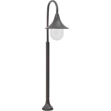 Garden Post Light E27 120 cm Aluminium Bronze