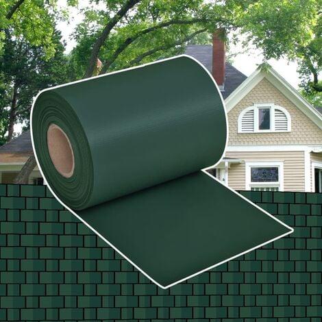 Garden Privacy Screen PVC 70x0.19 m Green - Green