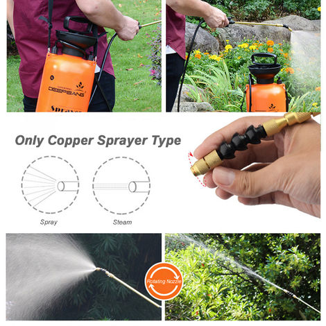 "main image of ""Garden Pump Sprayer with Wand Handheld Water Sprayers Plant Water Mister Sprayer"""