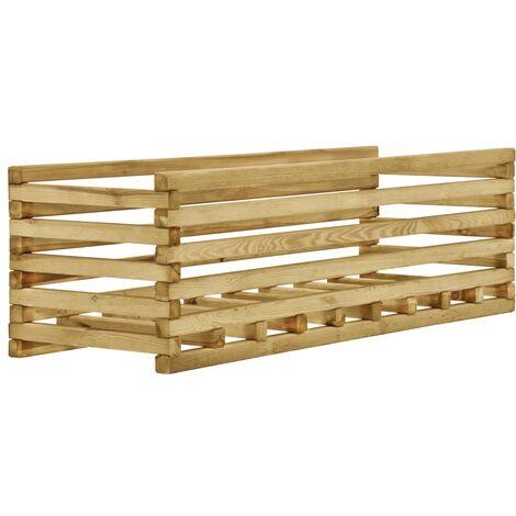 Garden Raised Bed 120x40x35 cm Impregnated Pinewood