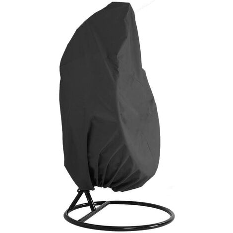 Garden Rattan Wicker Waterproof Hanging Chair Furniture Cover - Egg Protective Cover Chair - 210D Oxford Polyester PVC Cover