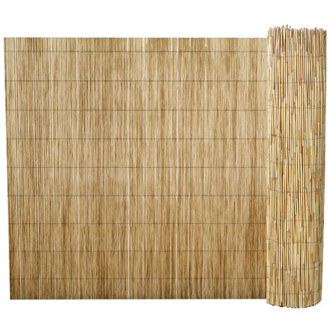 Garden Reed Fence 500x100 cm - Brown