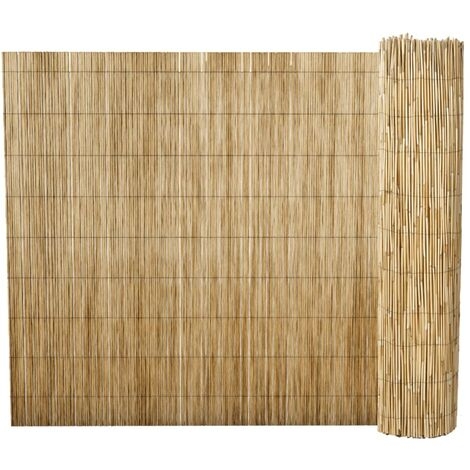 Garden Reed Fence 500x125 cm - Brown