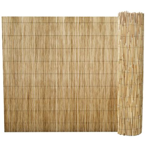 Garden Reed Fence 500x170 cm - Brown