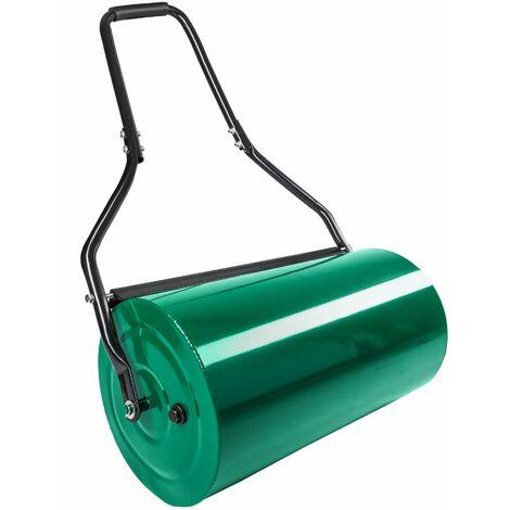 Garden roller - lawn roller, grass roller, ground roller - green