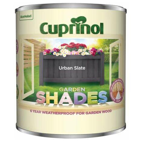 Garden Shades Urban Slate 1 litre CUPGSUS1L