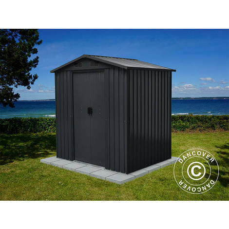 Garden shed, 1.94x1.31x2 m, Anthracite