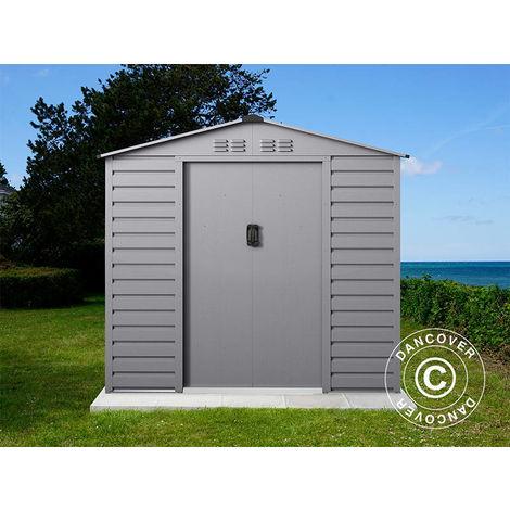 Garden shed 2.13x1.91x1.90 m ProShed®, Aluminium Grey