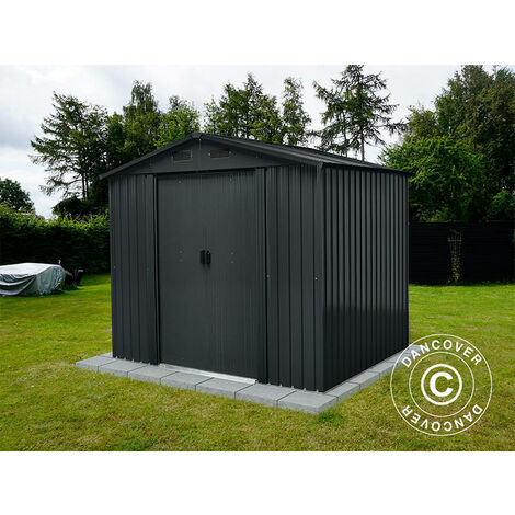 Garden shed 2.36x1.74x2.06 m ProShed®, Anthracite