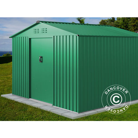 Garden Shed 2.77x2.55x1.92 m ProShed®, Green