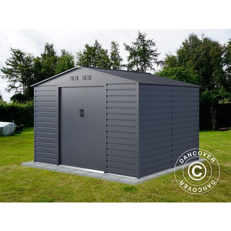 Garden shed 2.77x2.55x1.98 m ProShed®, Anthracite