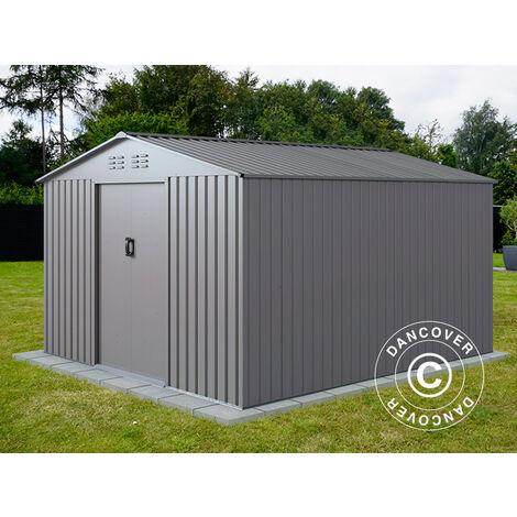 Garden Shed 2.77x3.19x1.92 m ProShed®, Aluminium Grey