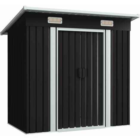 Garden Shed Anthracite Steel
