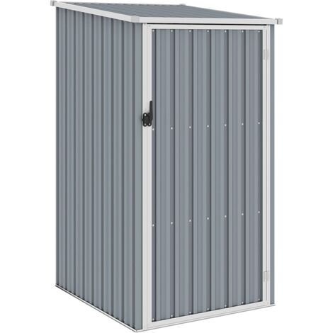 """main image of """"Garden Shed Grey 87x98x159 cm Galvanised Steel32570-Serial number"""""""