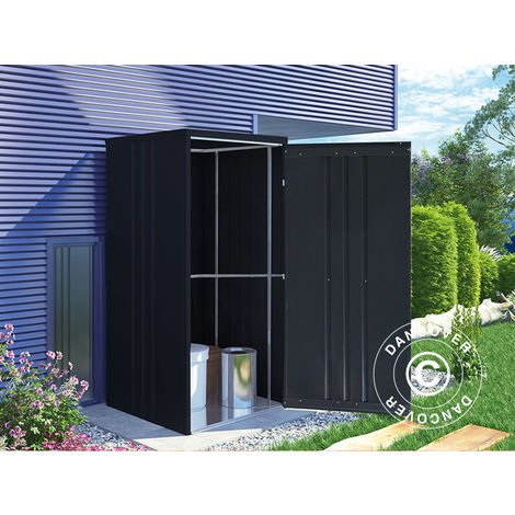Garden shed/Steel cabinet 0.95x0.85x1.8 m, ProShed®, Anthracite