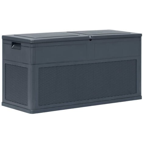 Garden Storage Box 320 L Anthracite