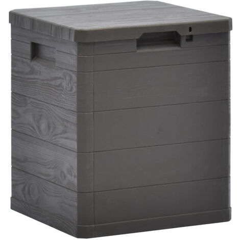 Garden Storage Box 90 L Brown