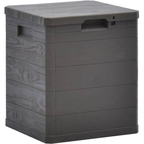 "main image of ""Garden Storage Box 90 L Brown - Brown"""