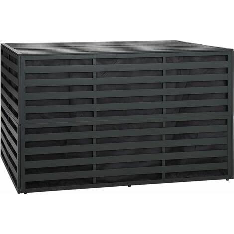 Garden Storage Box Aluminium 150x100x100 cm Anthracite