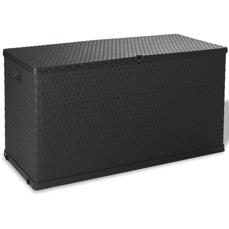Garden Storage Box Anthracite 120x56x63 cm - Anthracite