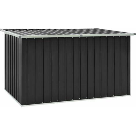 Garden Storage Box Anthracite 171x99x93 cm - Grey