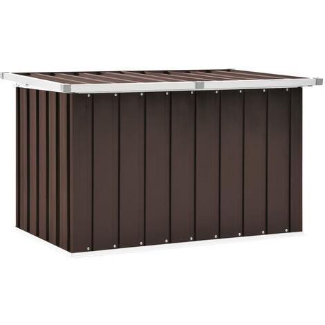 """main image of """"Garden Storage Box Brown 109x67x65 cm"""""""