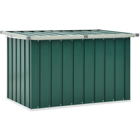 Garden Storage Box Green 109x67x65 cm