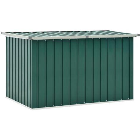 Garden Storage Box Green 149x99x93 cm