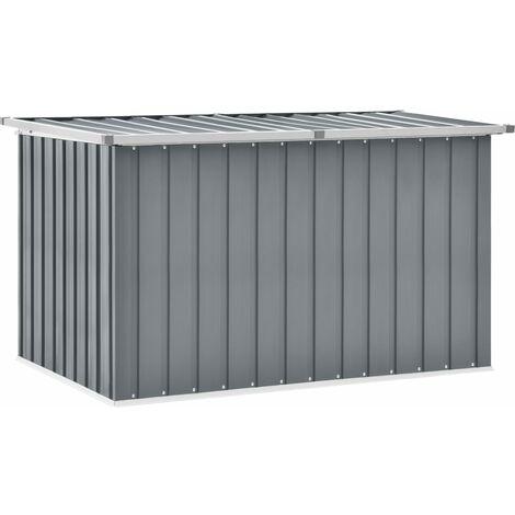 Garden Storage Box Grey 149x99x93 cm