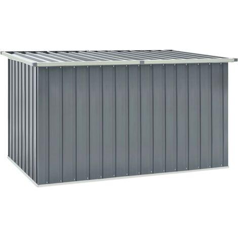 Garden Storage Box Grey 171x99x93 cm