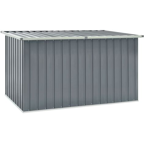 Garden Storage Box Grey 171x99x93 cm