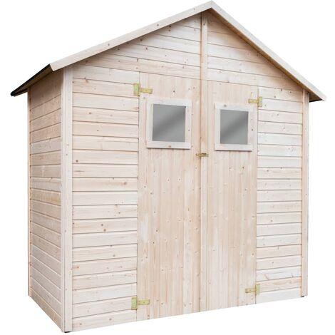 Garden Storage Shed 226x124x218 cm Wood