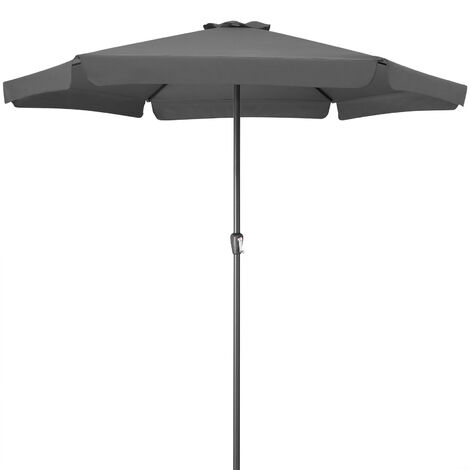 Garden Sun Parasol 3.3m Patio Umbrella UV-40 Shade Canopy Large Terrace Balcony