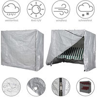 Garden Swing Chair Cover 185x117x170cm Protective Covering PE Tarpaulin