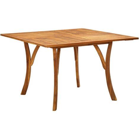 Garden Table 120x120x75 cm Solid Acacia Wood