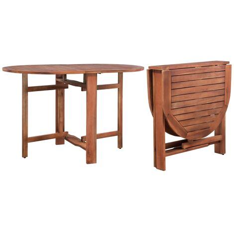 Garden Table 120x70x74 cm Solid Acacia Wood