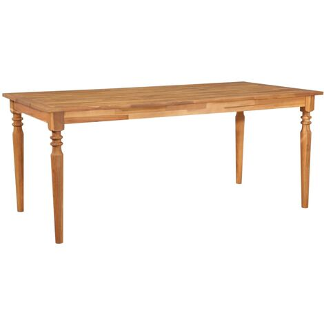 Garden Table 170x90x75 cm Solid Acacia Wood