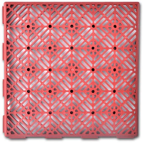 Garden Tiles Plastic Floor Tiles 29 x 29 cm 24 pcs