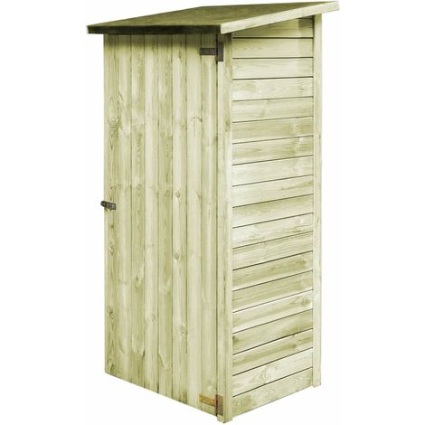 Garden Tool Shed FSC Impregnated Pinewood 88x76x175 cm
