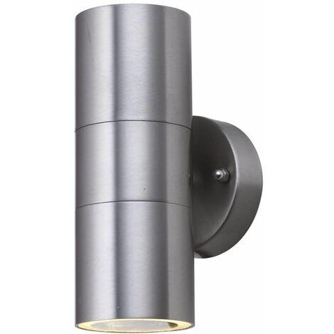"main image of ""Searchlight Outdoor - 1 Light Outdoor Wall Light Black IP44, GU10"""