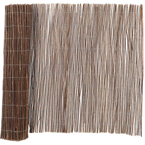 """main image of """"Garden Willow Fence Screening Roll Privacy Protection, 1.2x4M"""""""