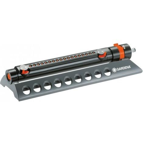 Gardena 01975-20 Comfort - 350/2 Arroseur oscillant Aquazoom Gris/Orange Plastique 30 x 20 x 20 cm