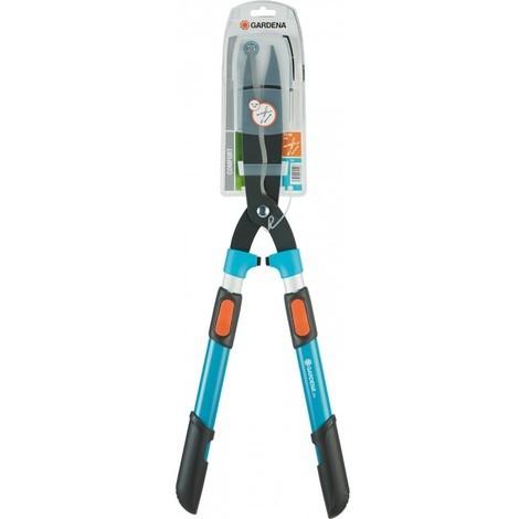 Gardena 0394-20 Cisaille a haie 700 T Comfort avec manche télescopique 70-90 cm