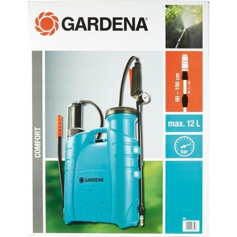 Gardena 0885-20 Pulvérisateur a dos 12 l