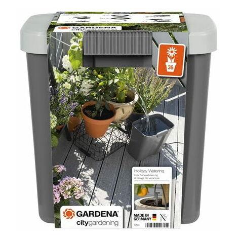 Gardena 1266-20 Set d'arrosage de vacances avec réservoir