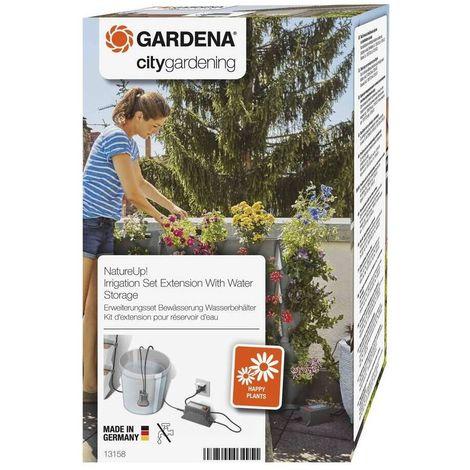 Gardena 13158-20 NatureUp Set extension riego deposito agua Para regar sin suministro de agua