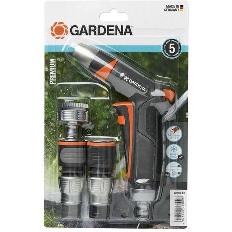 Gardena 18298-20 Set basico Premium Conexion Manguera 13mm y 15mm y grifos con rosca 26 5mm y 33 3mm