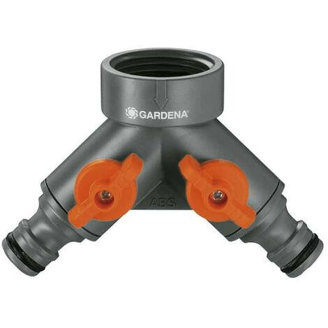 """GARDENA 2-Wege-Umlenker Für 26,5 mm G 3/4"""" und 21 mm 1/2"""" Gewindebohrer - 940-26"""