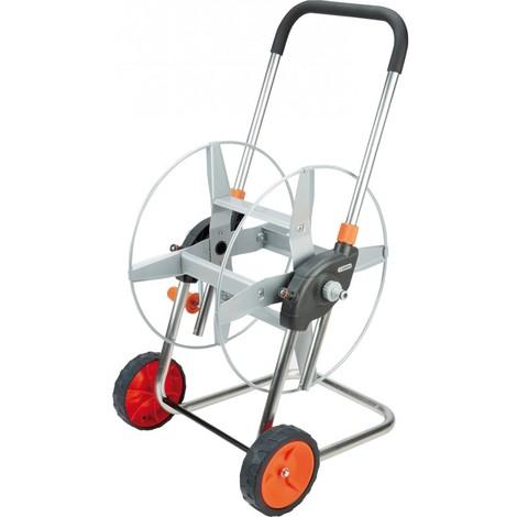 Gardena 2681-20 Dévidoir en métal sur roues pour tuyau d'arrosage de 60 m